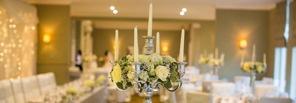wedding venue decor